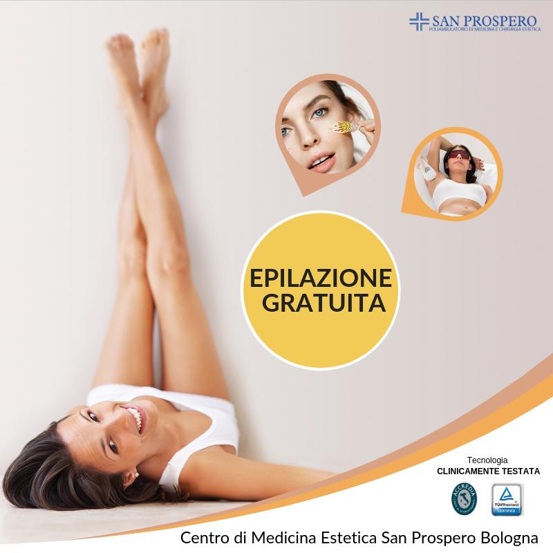 epilazione diodo gratuita bologna
